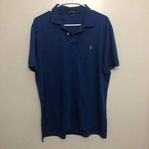 Polo Ralph Lauren pima soft polo shirt blue large